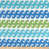 P Kaufmann Indoor/Outdoor Tide Pool Turquoise