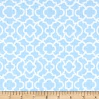 Flannel Bella Trellis Blue