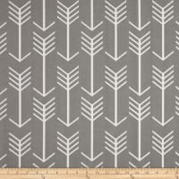 Premier Prints  Arrow Indoor/Outdoor Grey Twill