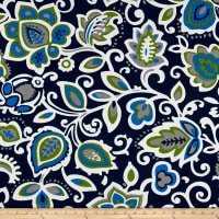 Premier Prints  Faxon Indoor/Outdoor Oxford/Cobalt