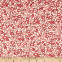 Pinafores & Petticoats Tonal Flowers Red
