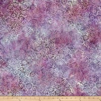 Wilmington Batik Flower Field Little Pink/Purple