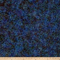 Wilmington Batik Flower Field Purple/Blue