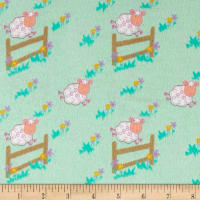 Countdown Flannel Mint