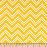 Ric Rac Paddywack Flannel Yellow Chevron