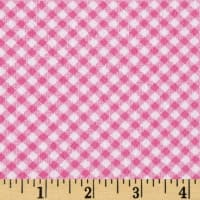 Ric Rac Paddywack Flannel Pink Gingham