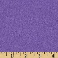 Fluffy Flannel Solids Purple