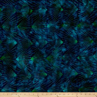 Kaufman Artisan Batiks Graphic Elements Burst Grasshopper