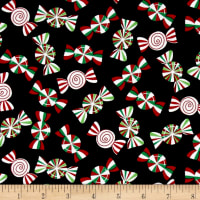 Holiday Cheer Holiday Peppermints Black
