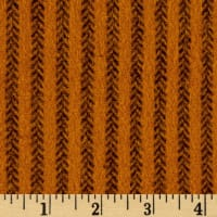 Primo Flannel Harvest Herringbone Stripe Orange
