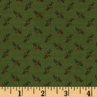 Old Sturbridge Village Stem Plaid Green