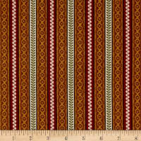 Cozies Flannel Harvest Stripe Multi