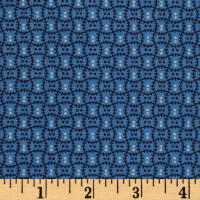 Cozies Flannel Check Blue