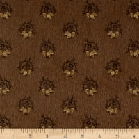 Cozies Flannel Lg Foulard Brown