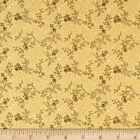 Cozies Flannel Twigs Buttercup