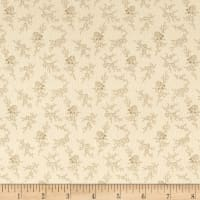 Cozies Flannel Floral Tan