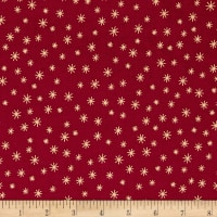 Wrapped In Joy Star Red