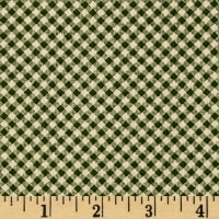 Wrapped In Joy Plaid Green