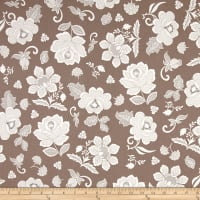 Hoffman Simply Eclectic Lace Floral Dune