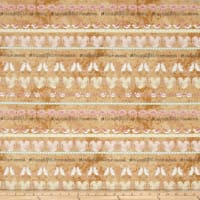 Love Birds Repeating Stripe Tan/Pink