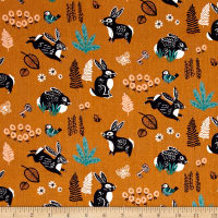 Birch Organic Hidden Garden Bunny Hop Orange