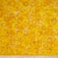 Island Batik Caribbean Splash Sunflower Yellow/Gold