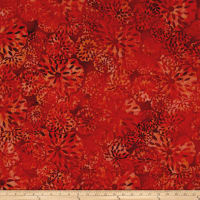 Island Batik Lavish Habitat Orng/Red/Purple