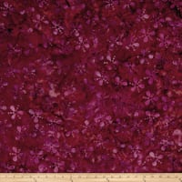 Island Batik Lavish Seeds & Dots Purple/Red/Orng