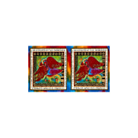 Laurel Burch Enchantment Metallic 25 In. Panel Blessings Multi Bright