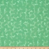 Indah Batiks Geo Angles Seabreeze