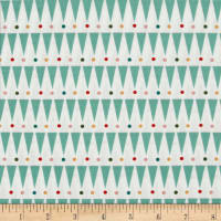 Party Animals Organic Party Stripe Green