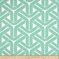 Waverly Sun N Shade Topsail Trellis Aqua Outdoor