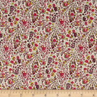 Telio Hampton Court Cotton Poplin Paisley Pink
