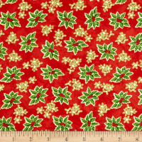Winter Bliss Holly Allover Red