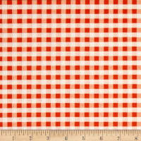 Verna Mosquera Candelabra Ghastly Gingham Orange
