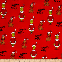 How The Grinch Stole Christmas Naughty Or Nice Red
