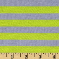 Designer Jersey Knit Stripe Grey/Yellow