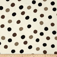 Birch Organic Mod Basics 3 Double Gauze Pop Dots Grayscale