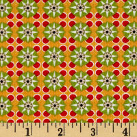 Michael Miller Valencia Petite Tile Orange