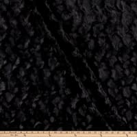 E.Z. Fabric Minky Bella Snuggle Black