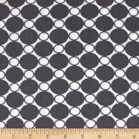 "Kaufman 108"" Wide Spot On Quilt Back Steel"