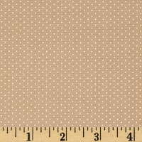 Kaufman Sevenberry Petite Basics Mini Dot Natural