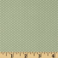Kaufman Sevenberry Petite Basics Mini Dot Sage