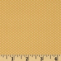 Kaufman Sevenberry Petite Basics Mini Dot Wheat