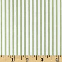 Kaufman Sevenberry Petite Basics Mini Stripe Sage