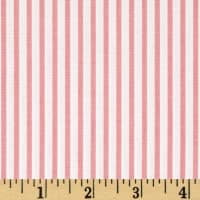 Kaufman Sevenberry Petite Basics Mini Stripe Pink