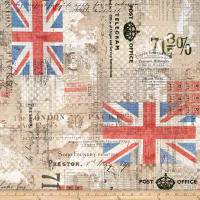 Tim Holtz Eclectic Elements Royal Mail Neutral