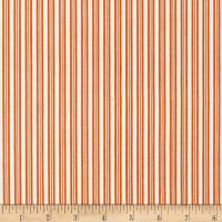 Riley Blake Lost & Found Halloween Stripes Orange