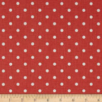 Premier Prints Mini Dot Coral/White
