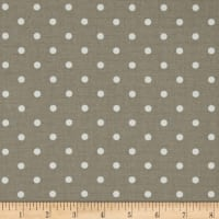 Premier Prints Mini Dot Ecru/White